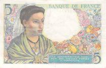 France 5 Francs Berger - 02-06-1943 Série M.22 - TTB