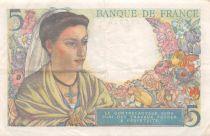 France 5 Francs Berger - 05-04-1945 Série B.144 - TTB