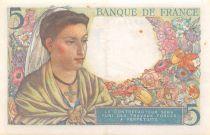 France 5 Francs Berger - 05-04-1945 Série K.129 - SUP
