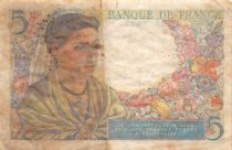 France 5 Francs Berger - 05-04-1945 Série L.130 - TB