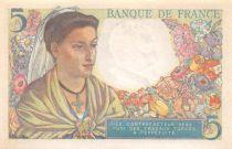 France 5 Francs Berger - 05-04-1945 Série S.125 - SUP
