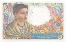 France 5 Francs Berger - 05-04-1945 Série U.130 - SPL