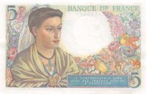 France 5 Francs Berger - 05-04-1945 Série V.138 - SUP+
