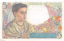 France 5 Francs Berger - 05-04-1945 Série Y.143 - TTB+
