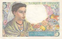 France 5 Francs Berger - 05-08-1943 Série B.59 - P.NEUF
