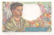 France 5 Francs Berger - 05-08-1943 Série E.54 - NEUF