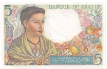 France 5 Francs Berger - 05-08-1943 Série M.53 - P.NEUF