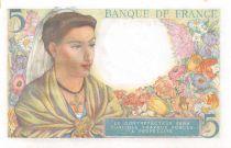 France 5 Francs Berger - 05-08-1943 Série V.71 - P.NEUF
