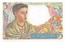 France 5 Francs Berger - 22-07-1943 Série E.48 - P.NEUF