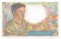 France 5 Francs Berger - 22-07-1943 Série V.41 - NEUF