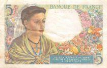 France 5 Francs Berger - 23-12-1943 Série B.110 - TTB