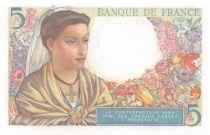 France 5 Francs Berger - 23-12-1943 Série P.116 - NEUF