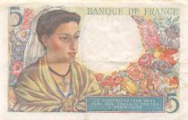 France 5 Francs Berger - 23-12-1943 Série P.117 - TTB+