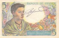 France 5 Francs Berger - 23-12-1943 Série R.99 - PSUP