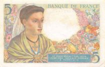 France 5 Francs Berger - 23-12-1943 Série U.113 - SUP