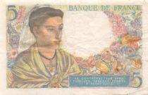 France 5 Francs Berger - 25-11-1943 Série B.92 - TB+