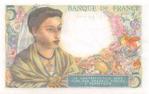 France 5 Francs Berger - 25-11-1943 Série R.88 - SUP+