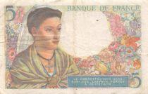 France 5 Francs Berger - 25-11-1943 Série V.77 - TB+