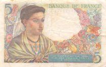 France 5 Francs Berger - 30-10-1947 Série K.156 - TB+
