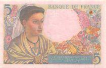France 5 Francs Berger - 30-10-1947 Série R.154 - TTB