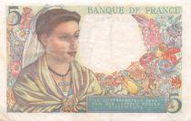 France 5 Francs Berger - 30-10-1947 Série Z.157 - TTB