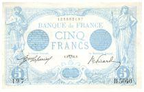 France 5 Francs Bleu - 02-04-1915 Série H.5040 - PSUP