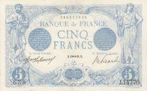 France 5 Francs Bleu - 06-11-1916 Série Z.14770