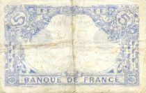 France 5 Francs Bleu - 12-09-1916 Série N.13849 - TTB