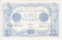 France 5 Francs Bleu - 1915