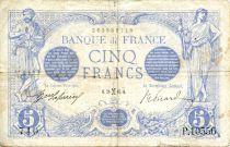 France 5 Francs Bleu - 26-02-1916 Série P.10556 - TTB
