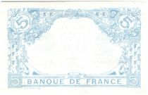 France 5 Francs Bleu - Aout 1916