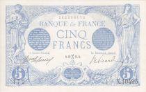 France 5 Francs Bleu - Fév 1916