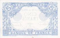 France 5 Francs Blue - 26-06-112 Serial G.552