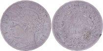 France 5 Francs Ceres - 1849 A Paris - Silver - F to VF - 2e ex.