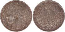 France 5 Francs Céres - Armoires - 1849 A Paris - Argent