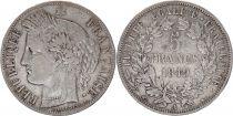 France 5 Francs Cérès 2ème République - Argent