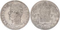 France 5 Francs Charles X - 1827 D Lyon Argent