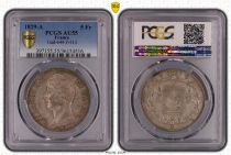 France 5 Francs Charles X - 2nd type - 1829 A - PCGS AU 55