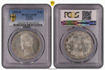 France 5 Francs Charles X - 2nd type - 1829 H La Rochelle - PCGS AU 55