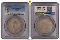 France 5 Francs Charles X - 2nd type - 1829 K - PCGS AU 55