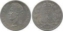 France 5 Francs Charles X - Argent