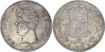 France 5 Francs Charles X - Ier type - 1825 B Rouen