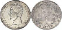 France 5 Francs Charles X - Ier type - 1825 H La Rochelle