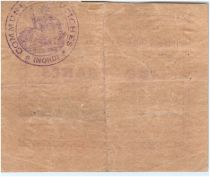 France 5 Francs Coutiches City - 1915