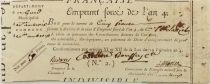 France 5 Francs Emprunt Forcé - Year 4 (1796) - Gard - Saint-Ambroix - VF