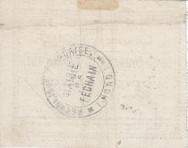 France 5 Francs Fechain City - 1915