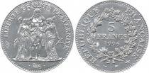 France 5 Francs Hercule - 1996