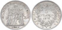 France 5 Francs Hercule - III e République 1875 A Paris