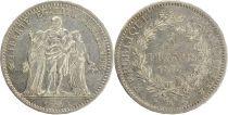 France 5 Francs Hercule - III e République 1875 K Bordeaux