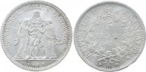 France 5 Francs Hercule - IIIeme République - 1873 A Paris